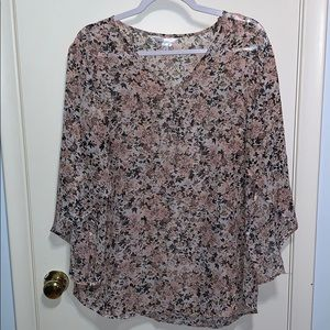 NWOT Northern Reflections sheer blouse